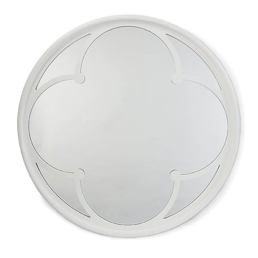 Regina Andrew Design Wall Decor Lula Quatrefoil Mirror White