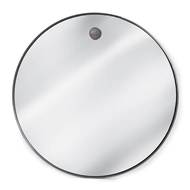 Regina Andrew Wall Decor Hanging Circular Mirror - Steel