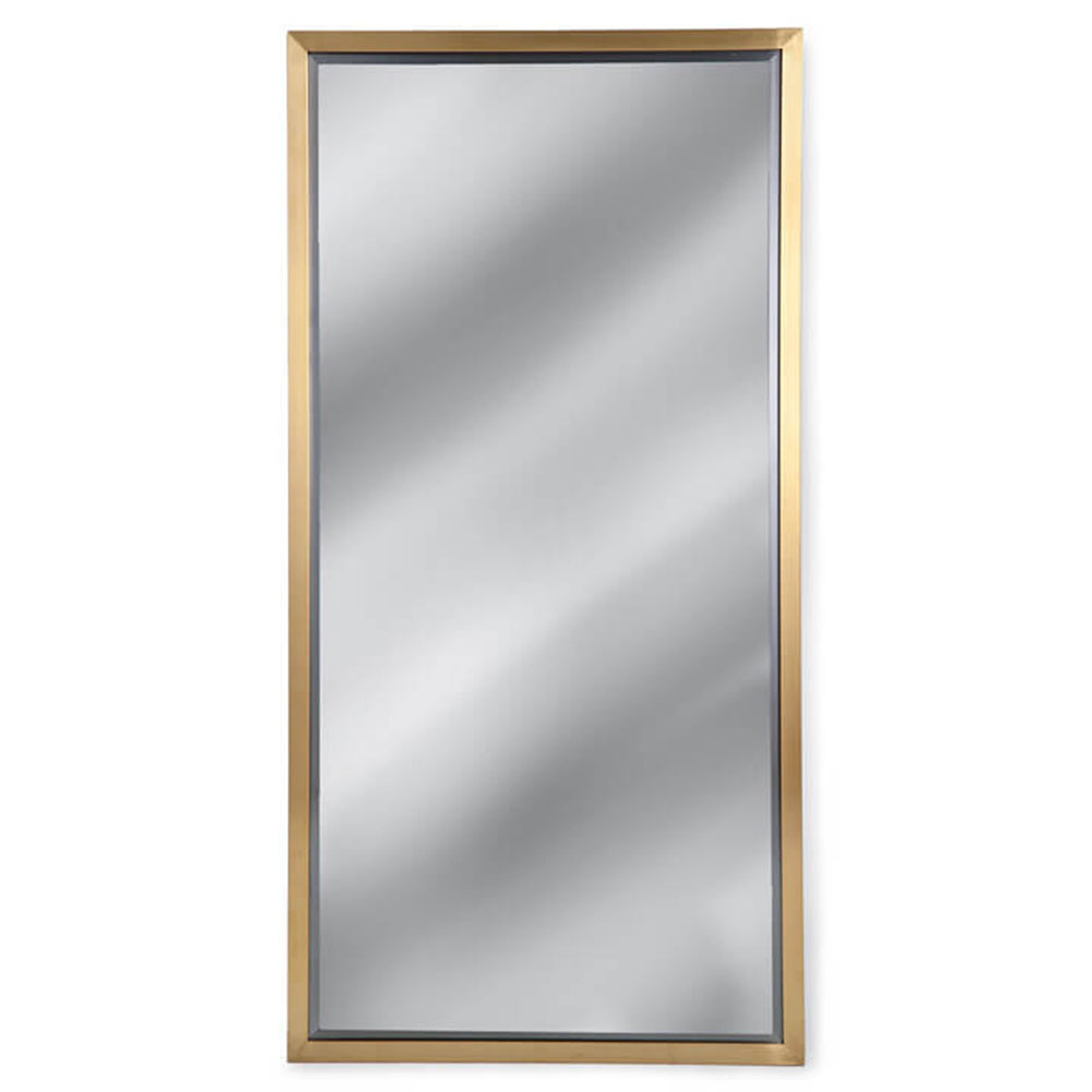 Regina Andrew Wall Decor Rectangle Mirror - Natural Brass