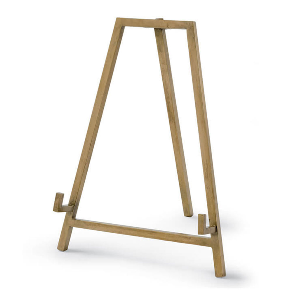 Regina Andrew Design Home Heavy Duty Easel Antique Brass