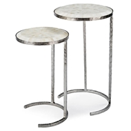 Regina Andrew Home Bone Veneer Nesting Tables