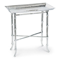 Regina Andrew Home Bamboo Table - Polished Nickel