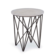 Regina Andrew Home Cecil Accent Table - Black Iron