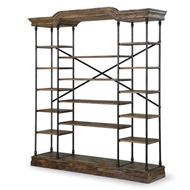 Regina Andrew Home Chateau Etagere Large - Blackened Iron