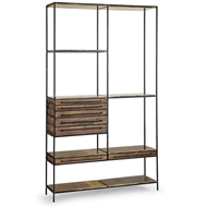 Regina Andrew Home Baxter Etagere Blackened Iron