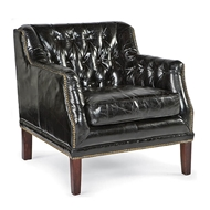 Regina Andrew Home Leather Equestrian Chair