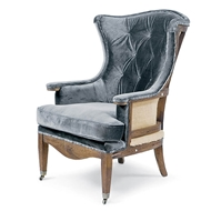 Regina Andrew Home Estate Deconstructed Wing Chair - Charcoal