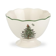 Spode Christmas Tree Sculpted Footed Bowl 1512450