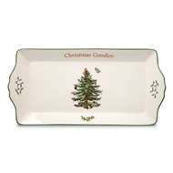 Spode Christmas Tree Sentiment Cookie Tray 1512566