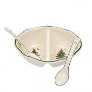 Spode Christmas Tree 3-pc Divided Serving Dish 1577060