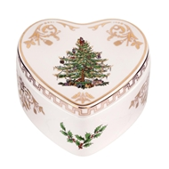 Spode Christmas Tree Heart-shaped Covered Box 1577466