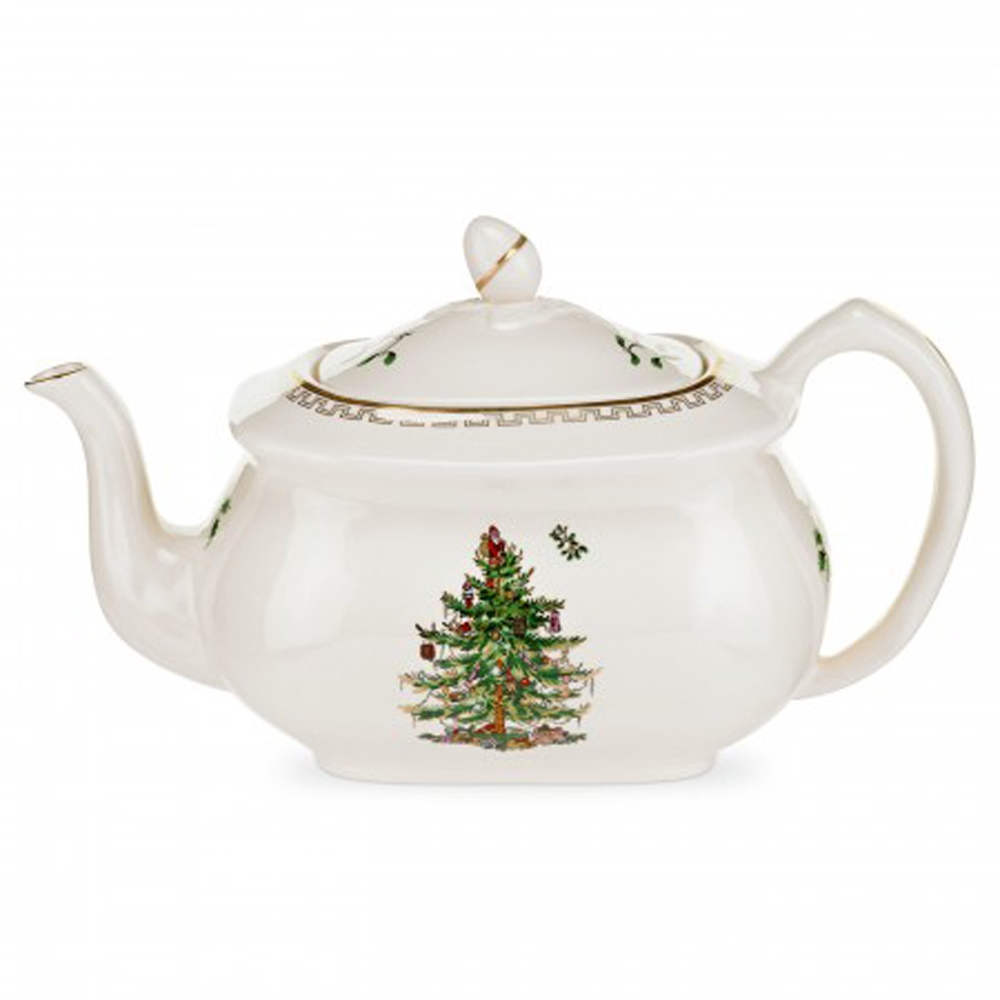 Spode Christmas Tree China Sale: Spode Christmas Tree Teapot