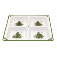 Spode Christmas Tree 4-Section Tray 1624276