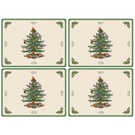 Spode Christmas Tree S/4 Placemats 2010648338