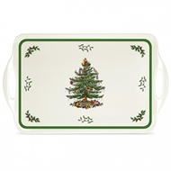 Spode Christmas Tree Sandwich Tray 2019438338