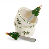 Spode Christmas Tree Dipping Set 4054849