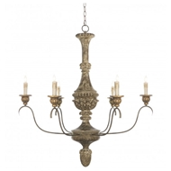 Aidan Gray Home Lighting Gold Bianco Chandelier