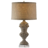 Aidan Gray Home Lighting Brussels Lamp with Crystal Base