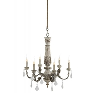 Aidan Gray Home Lighting Chateau Bealieu Leaf Chandelier