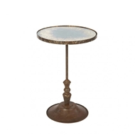 Aidan Gray Home Fien Occasional Table in Rustic Storm