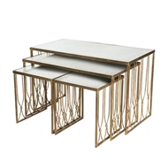 Aidan Gray Home Grubb Nested Coffee Tables Set