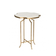 Aidan Gray Home Het Lo Occasional Table Glass