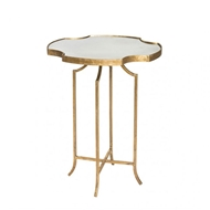 Aidan Gray Home Het Lo Occasional Table Marble