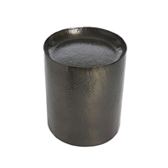 Aidan Gray Metal Hammered Stool