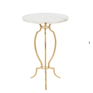 Aidan Gray Home Portrack House Garden Table - Gold