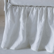 Bella Notte Linen Baby Crib Skirt Quick Ship QSLCT551 - Blend