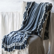 Bella Notte Loulah Large Throw Blanket LOU823
