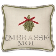 Eastern Accents Embrasse-moi Pillow