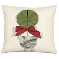Eastern Accents Holiday Topiary Pillow
