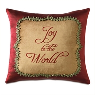 Eastern Accents Joyous Wishes Pillow