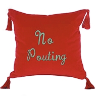 Eastern Accents No Pouting Pillow