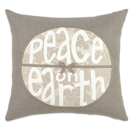 Eastern Accents Peace on Earth Pillow