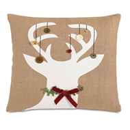 Eastern Accents Tangled Tinsel Pillow