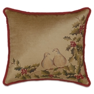 Eastern Accents Two Turtle Doves Pillow