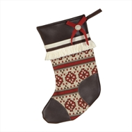 Eastern Accents Winter Woolies Stocking
