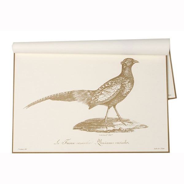 Kitchen Papers Harvest Pheasant Paper Placemats