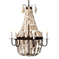 Lowcountry Originals Lighting Small Crystal Empire Chandelier