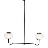 Lowcountry Originals 2 Lights Gas Chandelier