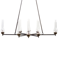 Lowcountry Originals 8 Lights Gas Chandelier