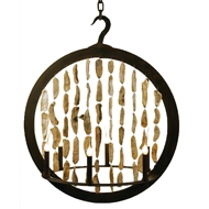 Lowcountry Originals Shell Ring Chandelier