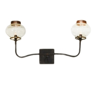 Lowcountry Originals Two Lights Gas Replica Sconce