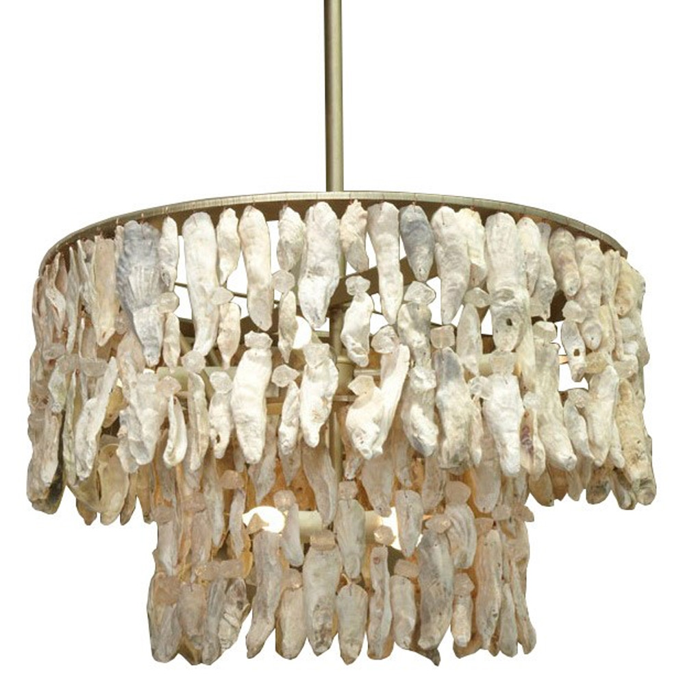 Two tier chandelier made in usa lowcountry originals lighting lowcountry originals two tier chandelier arubaitofo Image collections