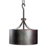 Lowcountry Originals Copper Drum Chandelier