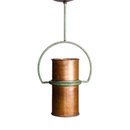 Lowcountry Originals Copper Yoke Chandelier