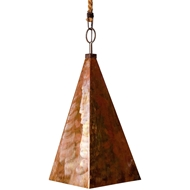 Lowcountry Originals Copper Pyramid Pendant Chandelier