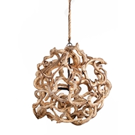 Lowcountry Originals Large Vine Ball Chandelier